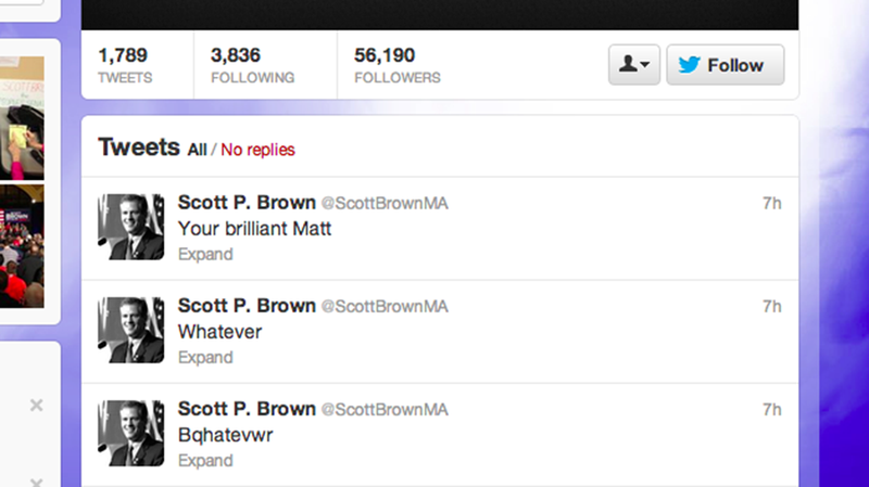 Illustration for article titled Debunking Scott Brown: Why There's No Way That Drunk Tweet Was a Butt Tweet