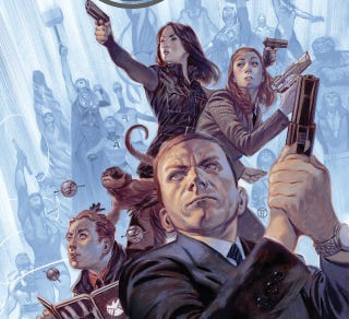 Illustration for article titled Coulson's SHIELD Agents Arrive In The Real Marvel Universe Tomorrow