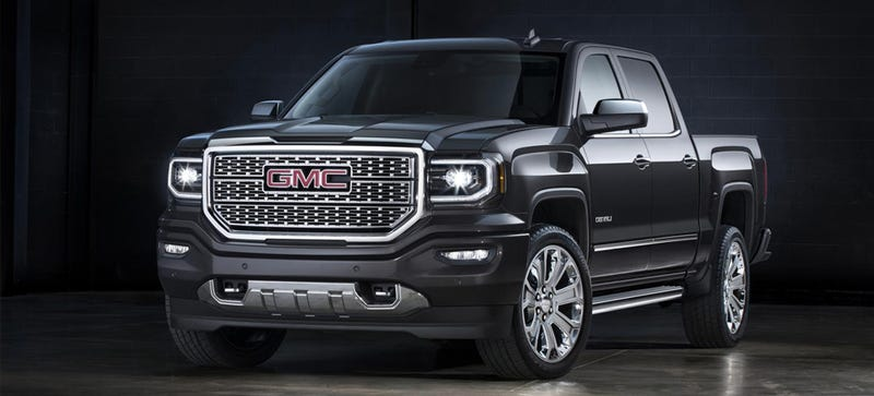 Illustration for article titled The GMC Sierra Denali Ultimate Is A Neat Trick To Sell You More Options
