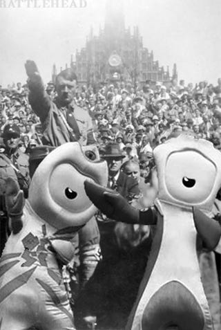 Illustration for article titled Presenting The London Olympic Mascots Photoshop Contest