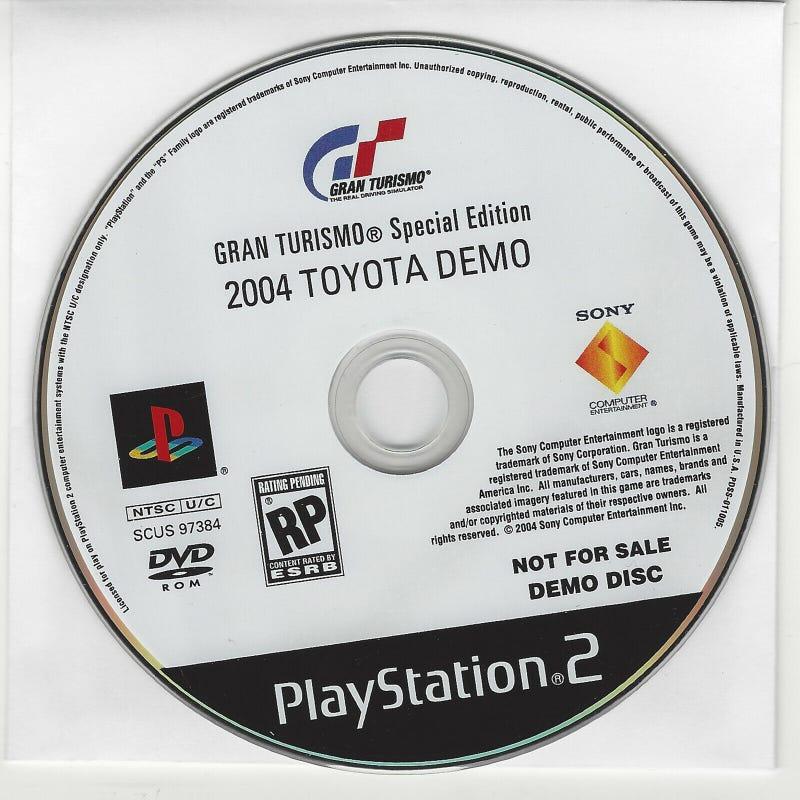 Illustration for article titled I'm broke, so I've put my GT4 Prologue Toyota Auto Show Demo up on Ebay