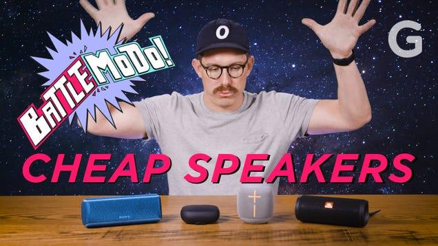 The Best Cheap Bluetooth Speaker