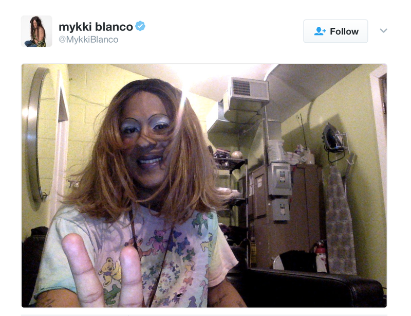 Delta Passenger Calls Cops on Mykki Blanco Just for Sitting Beside Him