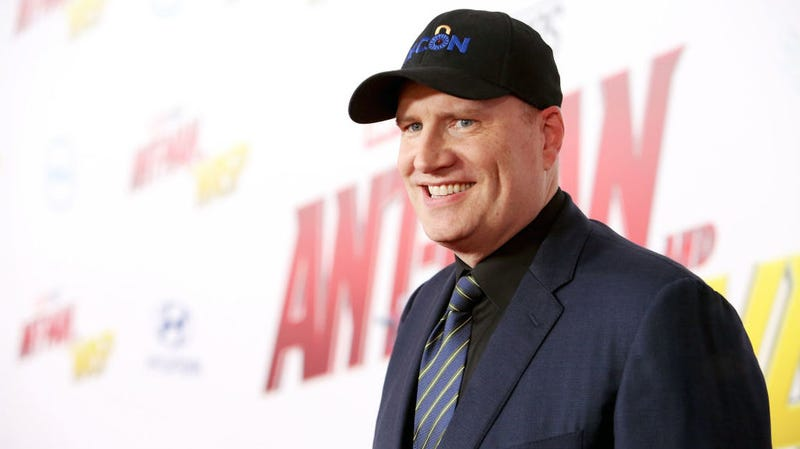 Marvel Studios president Kevin Feige at the premiere of Ant-Man and the Wasp this summer.