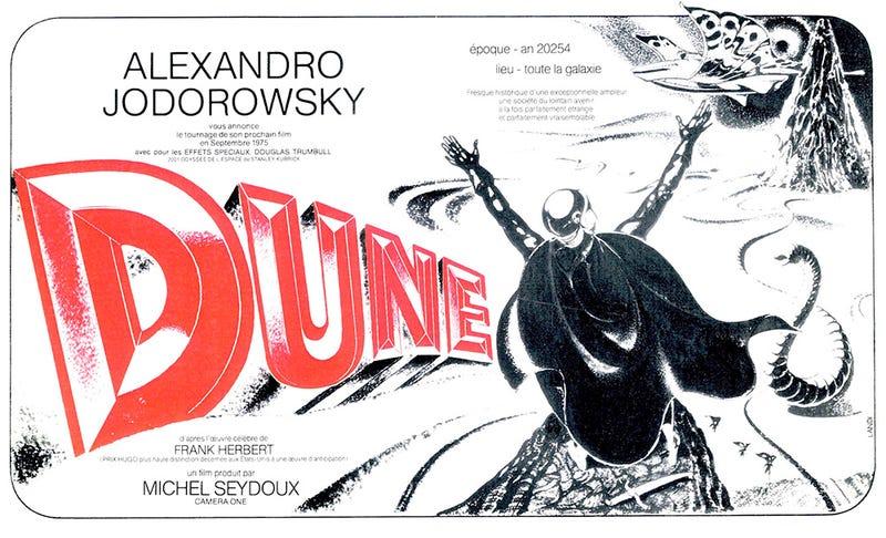 Illustration for article titled La mejor película de Dune de todos los tiempos nunca llegó a filmarse