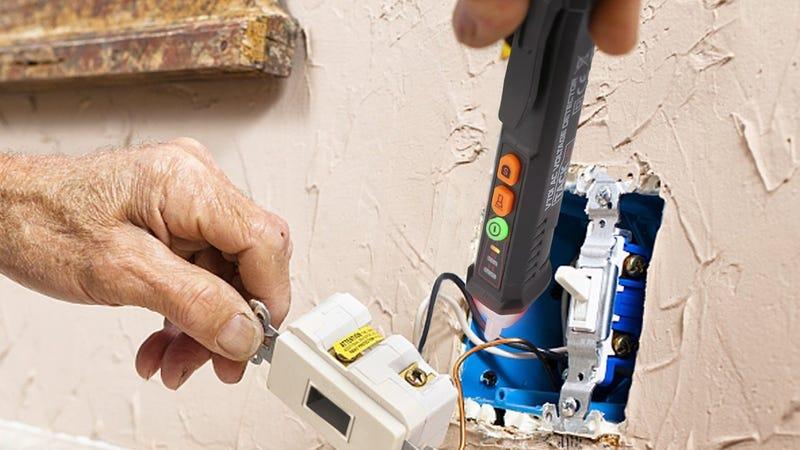 Tacklife VT01 Voltage Tester | $8 | Amazon | Promo code LTSJJOHJ