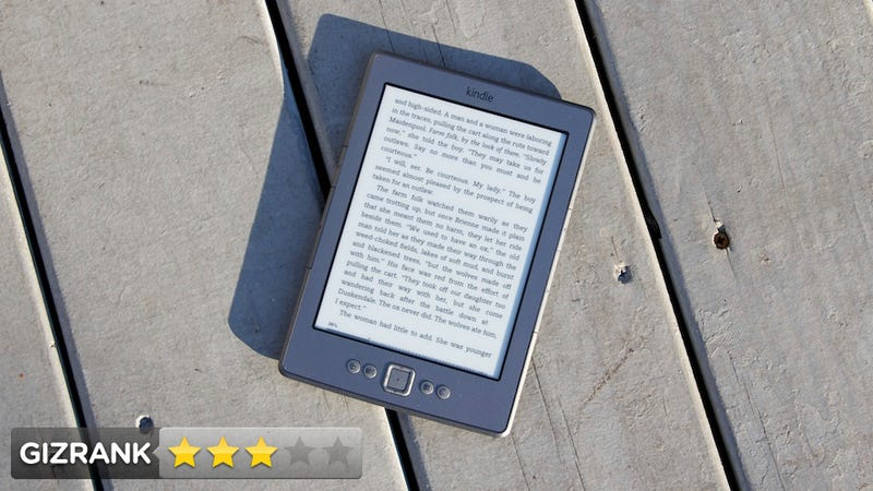 Illustration for article titled Kindle 4 Lightning Review: It's Just Not That Into You