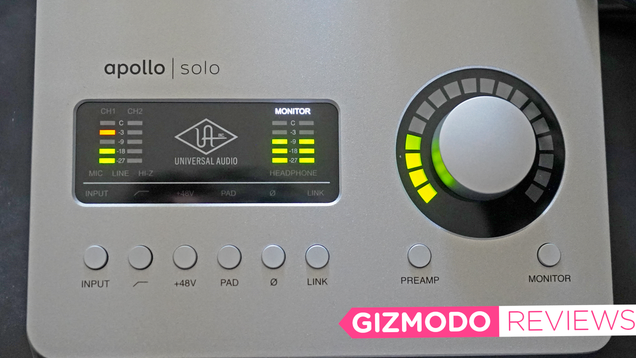 The Apollo Solo Turns Your Mac Into a Recording Studio