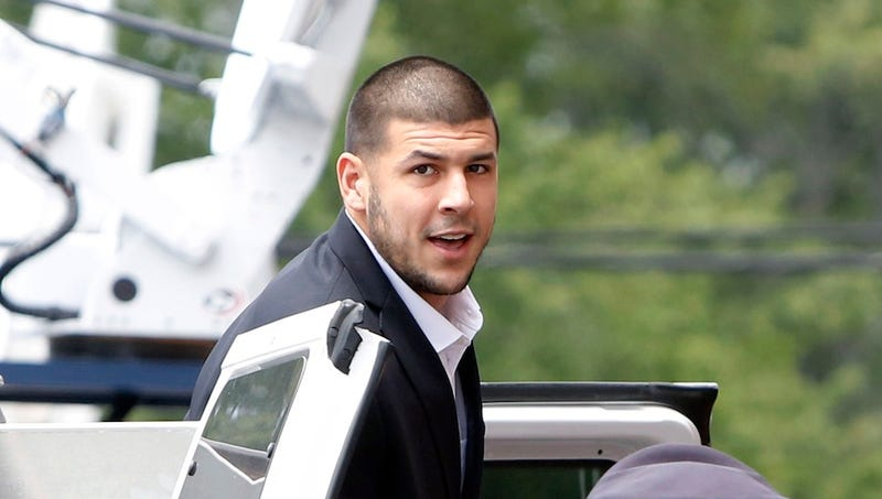 Illustration for article titled Gun Used In 2012 Murders Linked To Aaron Hernandez Has Been Found