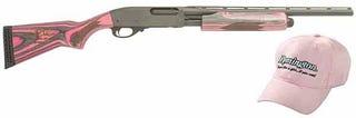 Illustration for article titled First Pink Gadgets, Now Pink Shotguns?