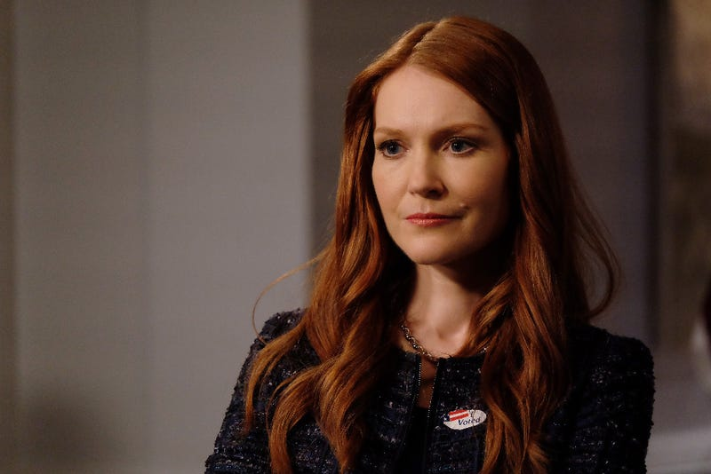 Abby Whelan (Darby Stanchfield) is in quite a jam. (John Fleenor/ABC)