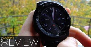 Illustration for article titled LG G Watch R Review: Worthy of Your Wrist, Even If Android Wear Isn't