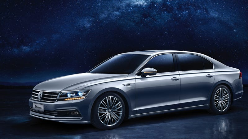 The Volkswagen Phideon Is The Phaeton S Chinese Heir