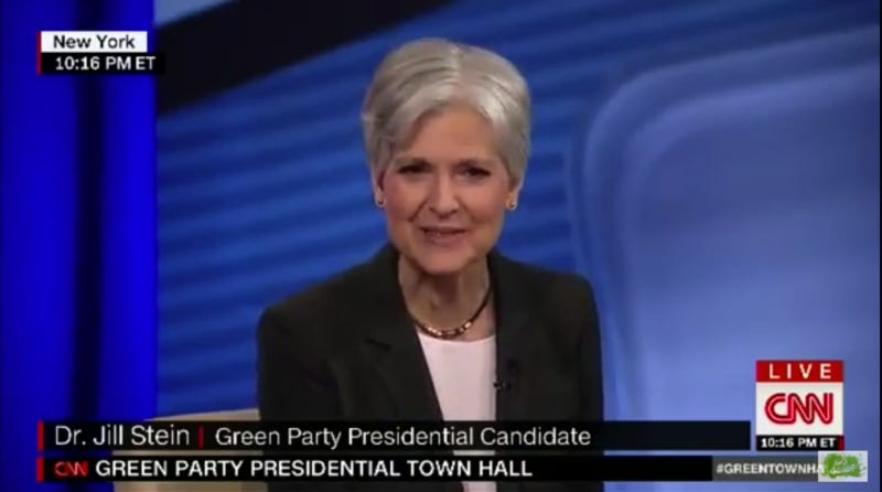 Illustration for article titled Jill Stein Says It's 'Ridiculous' to Say She's Anti-Vaccination