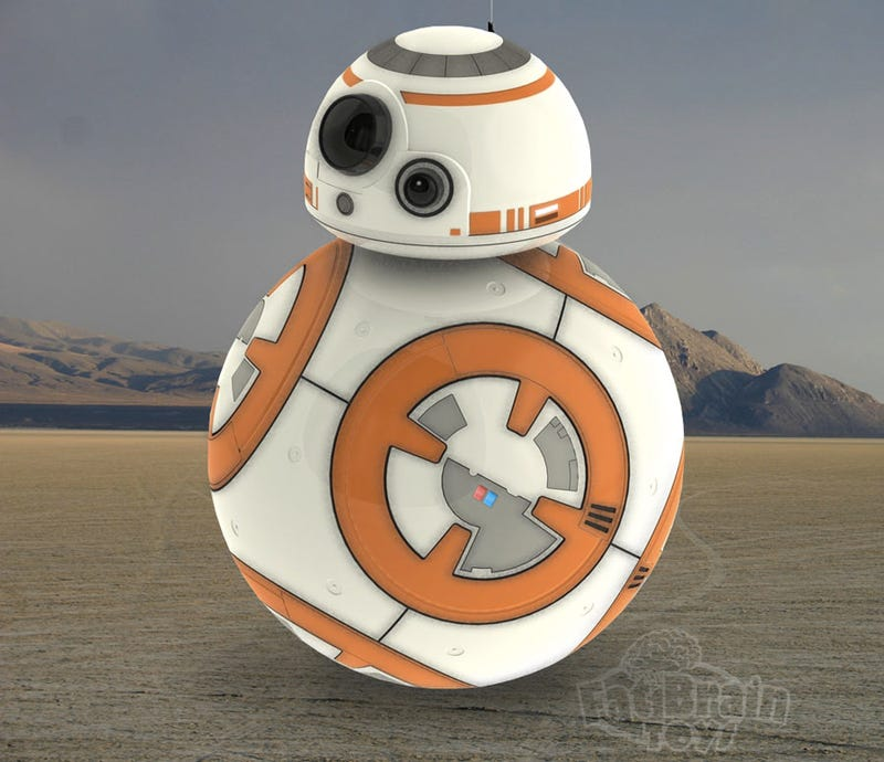 Illustration for article titled Is This Our First Look at Sphero's Official The Force Awakens BB-8 Toy?