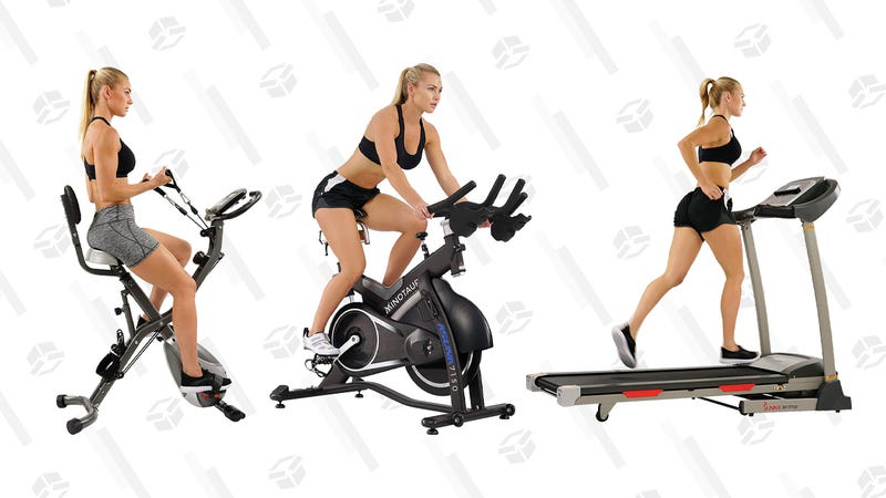 Sunny cardio equipment Gold Box | Amazon