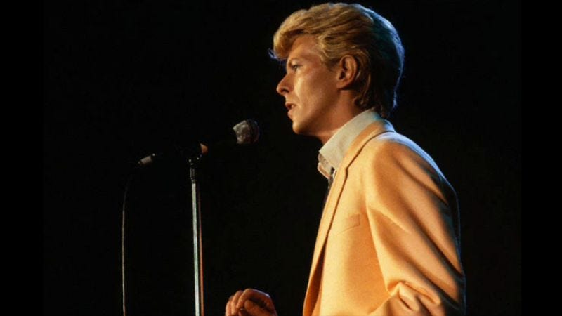 """In """"Modern Love,"""" David Bowie mixed the modern with the timeless"""