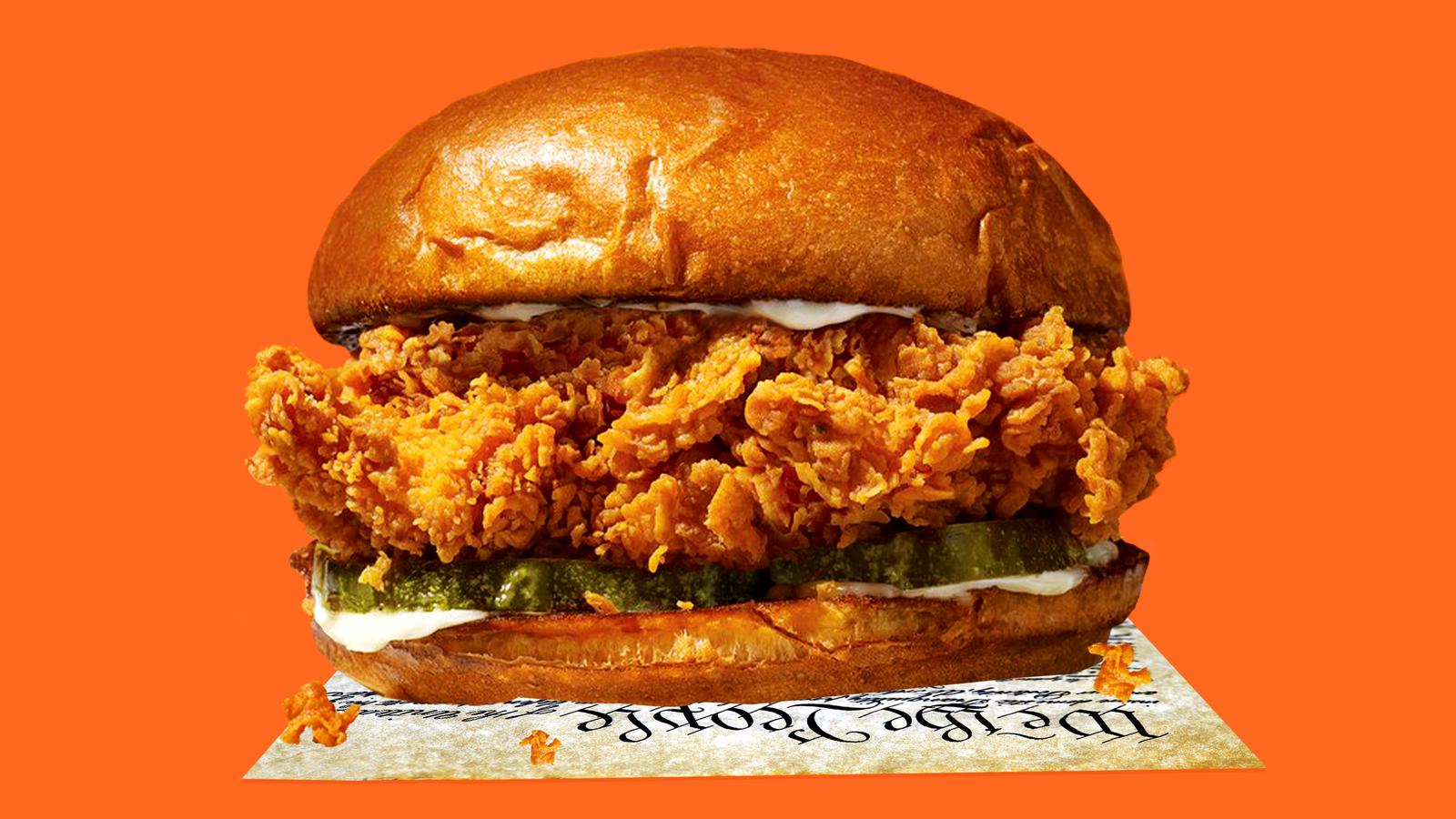 The Last Popeyes Chicken Sandwich in America