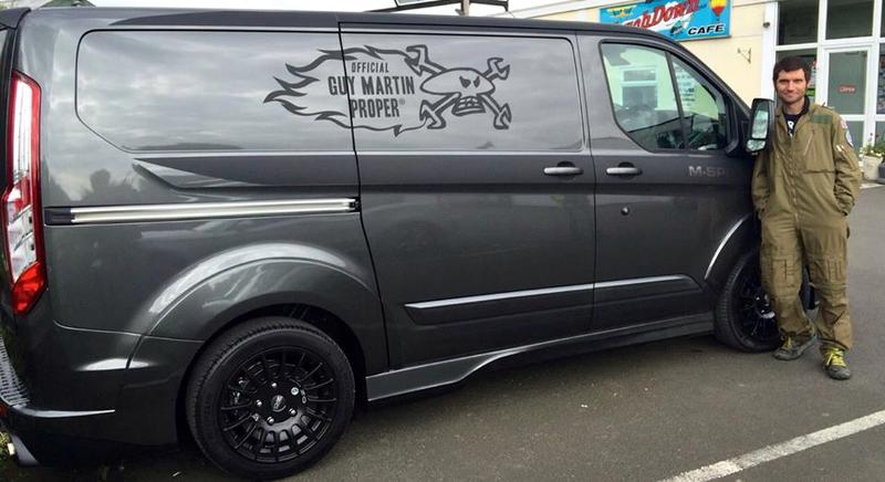 Guy Martin M Sport Transit Van