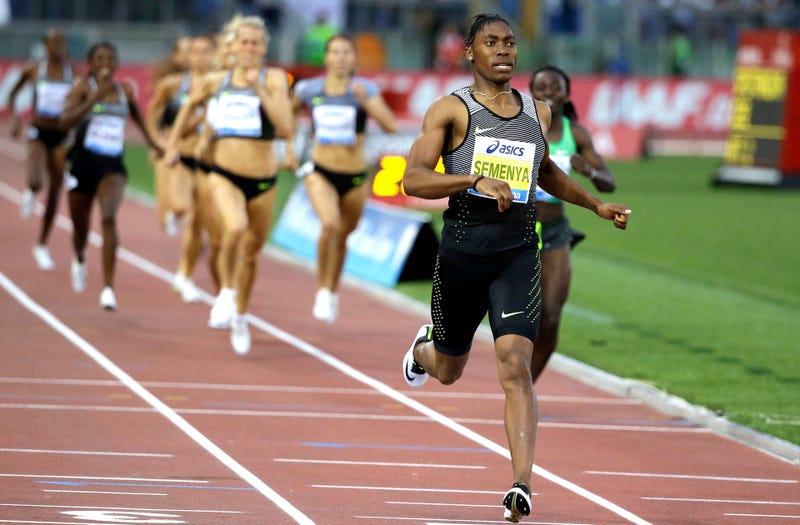 Female athletics pussy
