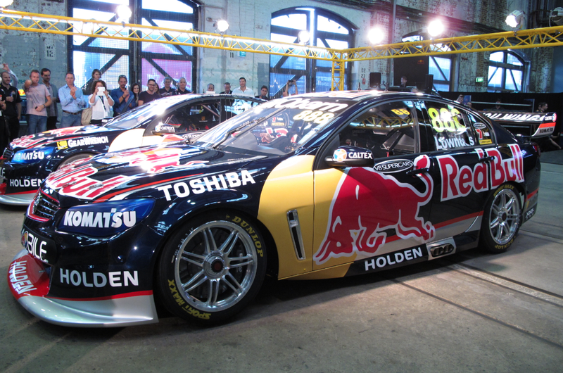 Illustration for article titled 2012 V8 Supercar Champions Reveal New Look