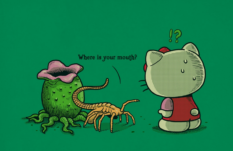 Illustration for article titled Hello Kitty Is Immune To Facehuggers