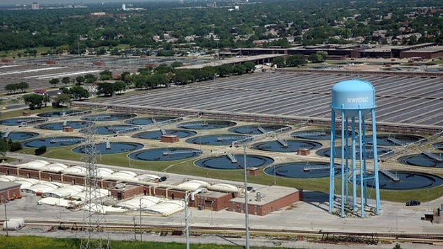 Chicago S Stickney Wastewater Treatment Plant Is The