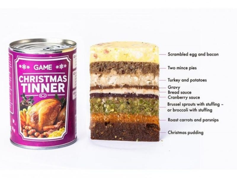 Illustration for article titled Who wants their Christmas dinner in a can?