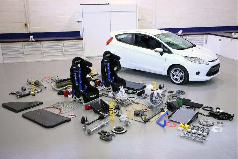 U S  Rallyers Get A Fiesta Of New Ford Parts