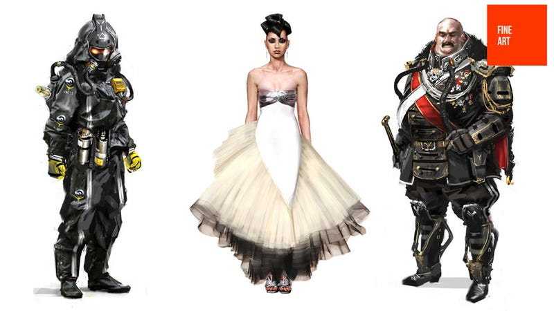 Illustration for article titled The Dapper Villains and Pretty Ladies of the Killzone Universe
