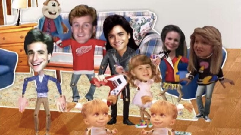 Illustration for article titled This Full House rap video by Dave Coulier has not yet begun to cut it out
