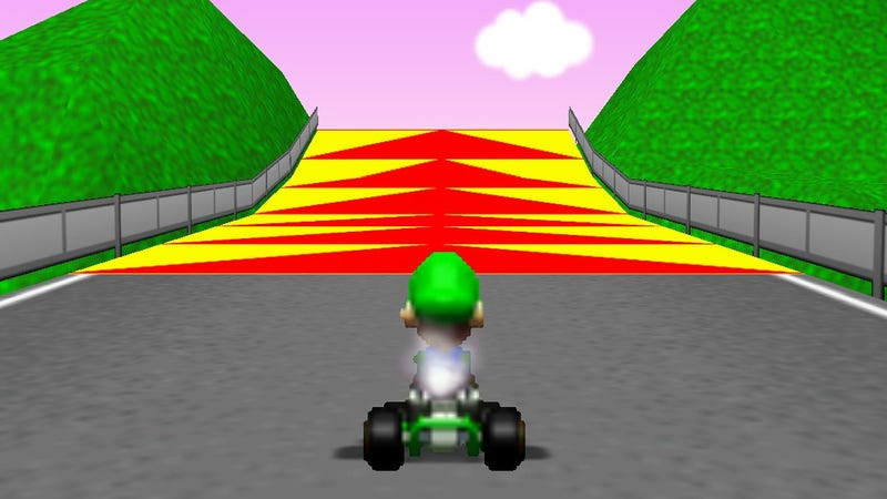 Screenshot: Mario Kart 64