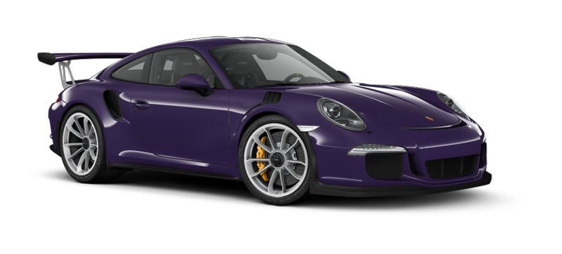 Illustration for article titled How You'd Option Your 2016 Porsche 911 GT3 RS