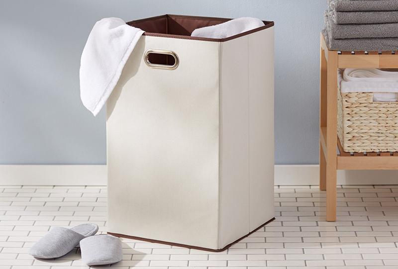 AmazonBasics Foldable Laundry Hamper | $11 | Amazon