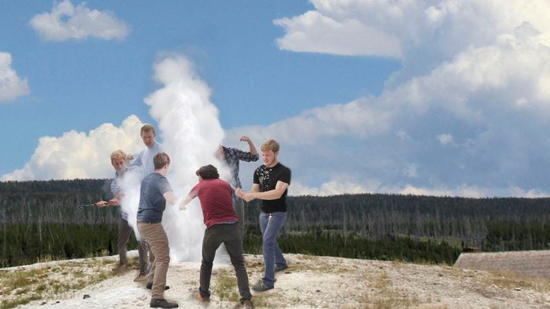 Illustration for article titled Old Faithful Brutally Beaten To Death By Group Of Teens