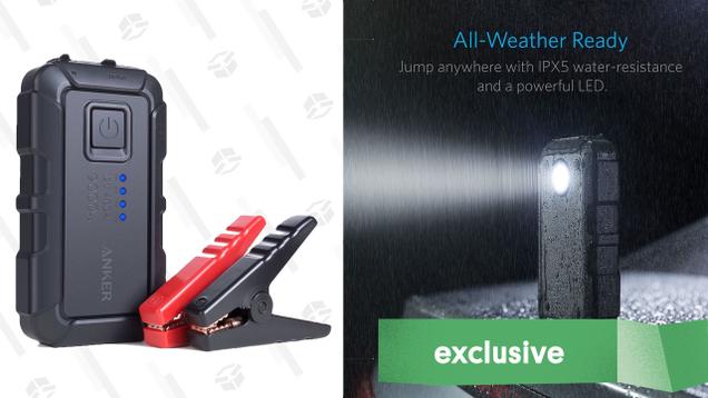 Anker PowerCore Jump Starter Mini   $60   Amazon   Promo code ROAVKJ33