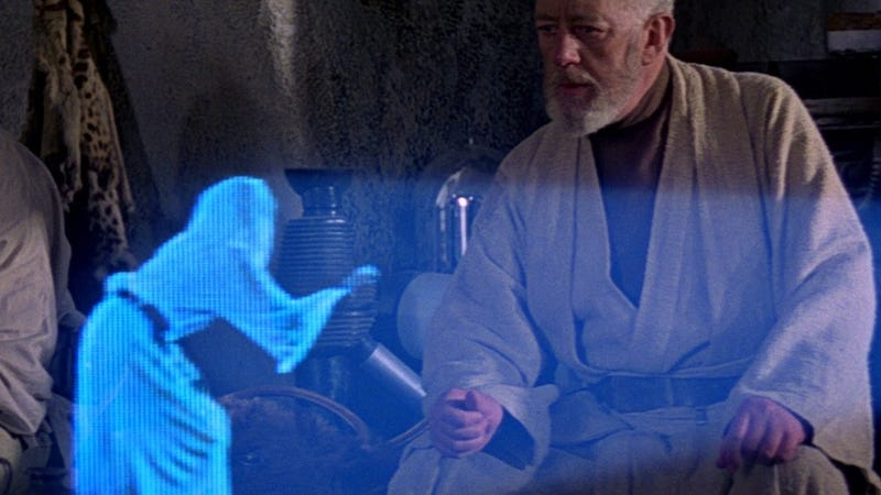 Illustration for article titled Oh Man, Life-Size Holograms Could Be Coming to Your Living Room