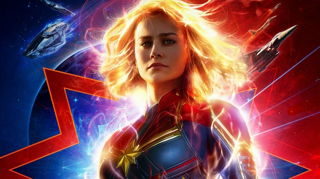 Carol Danvers Is a Noble Warrior Hero in the NewCaptain Marvel Trailer