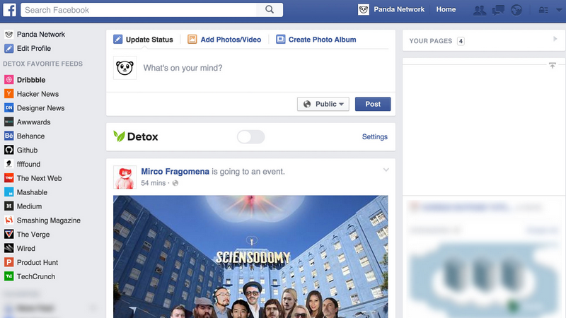 Illustration for article titled Detox For Facebook Replaces Your Feed With Actual News