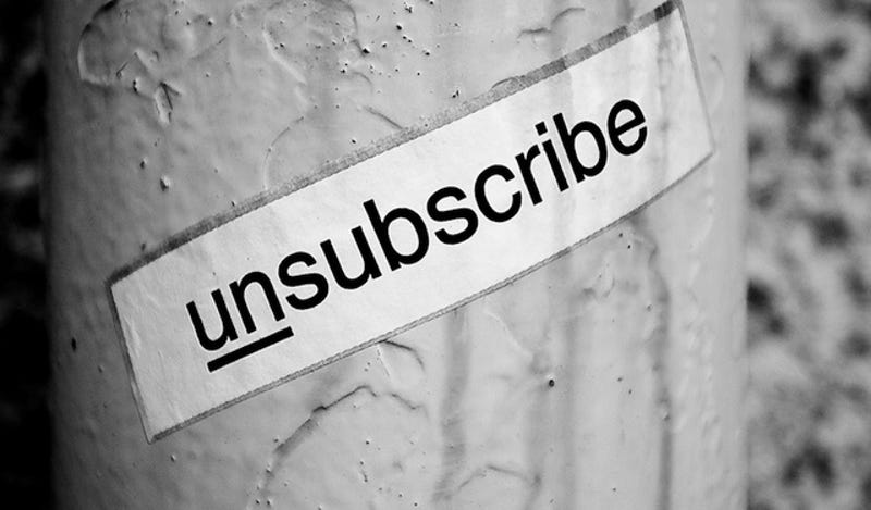 Illustration for article titled The 10 Most Unsubscribed Email Lists of 2013