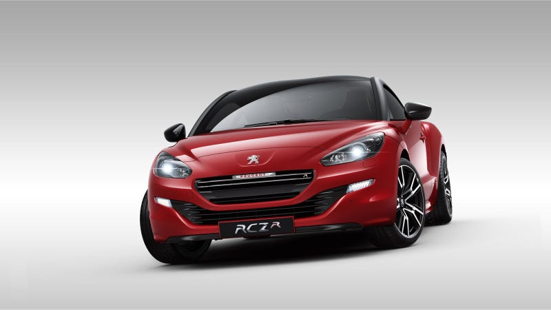 Illustration for article titled Peugeot RCZ R: Same Iconic Design, Completely Different Beast