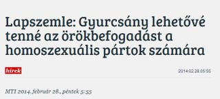 Illustration for article titled Melyikek a homoszexuális pártok, és mit akar tőlük Gyurcsány?