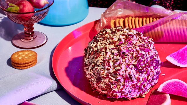 A homemade cheese ball is the kitschy hit no holiday party can resist