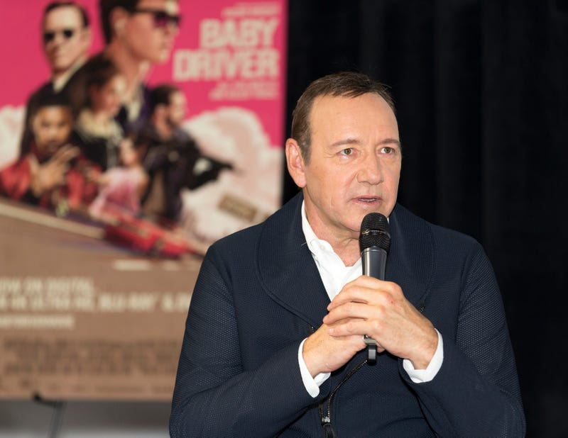Kevin Spacey in Los Angeles on Oct. 4, 2017 (Rochelle Brodin/Getty Images for Sony Pictures Home Entertainment)
