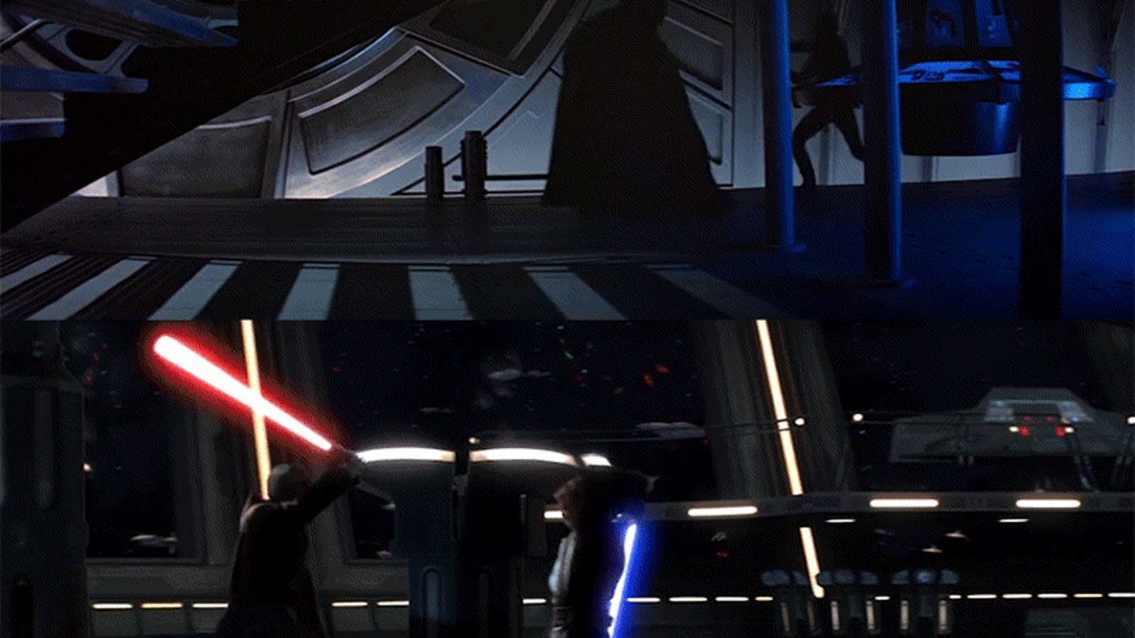 The stunning visual symmetry between the old Star Wars trilogy and the new movies