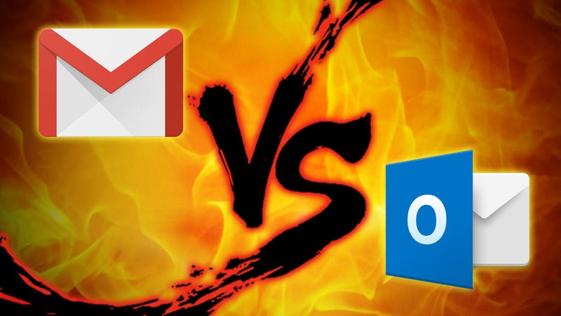 Illustration for article titled Webmail Showdown: Gmail vs. Outlook.com