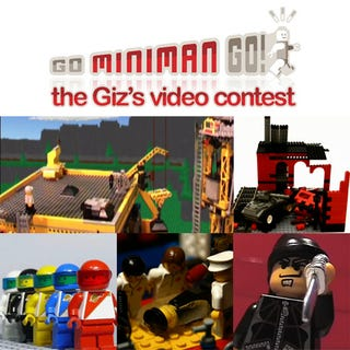 Illustration for article titled Winners of the Go Miniman Go Lego Video Contest