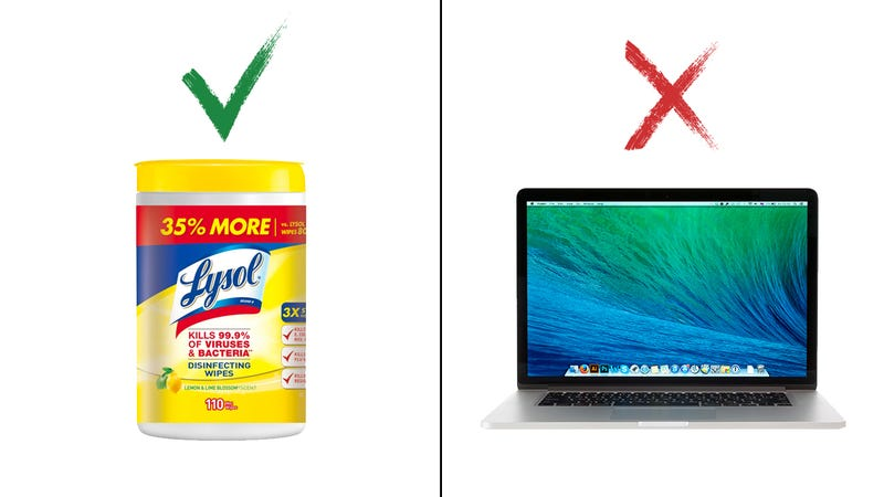 Piling On: Lysol Is Following Microsoft's Lead With A Series Of Ads Absolutely Dunking On MacBooks