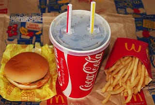 Illustration for article titled In Japan, McDonald's Jumbo-Sized Cola Is a Forever Alone Reminder