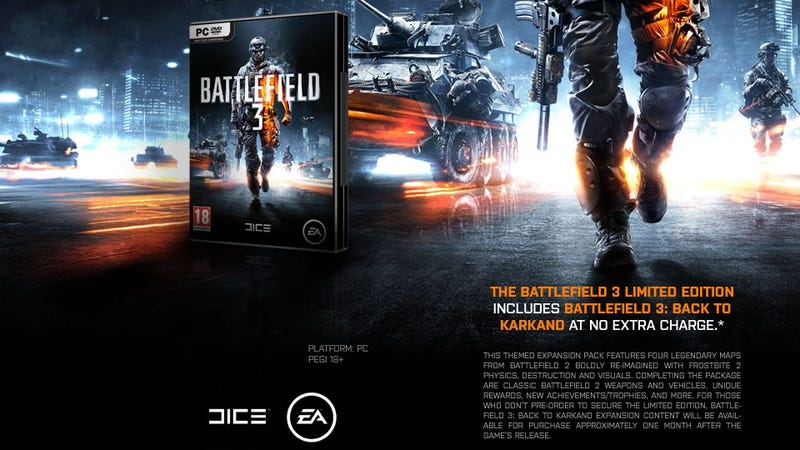 Illustration for article titled Leaked Battlefield 3 DLC Info Points to a Classic Map Reboot?